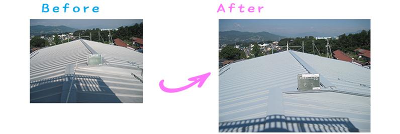 長野県長野市・市営住宅屋根塗り替え工事
