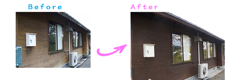 長野県中野市宿泊施設さま外壁塗り替え工事