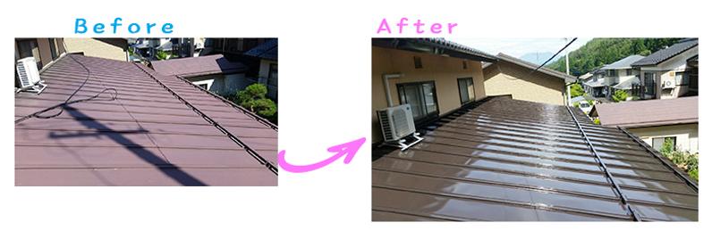 長野県須坂市Tさま邸屋根塗り替え工事