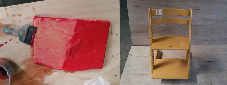 椅子塗り替え