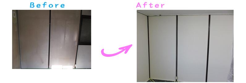 長野県長野市M印刷店さま待合室塗り替え工事
