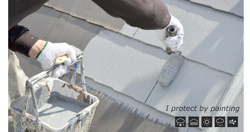 屋根塗り替え01