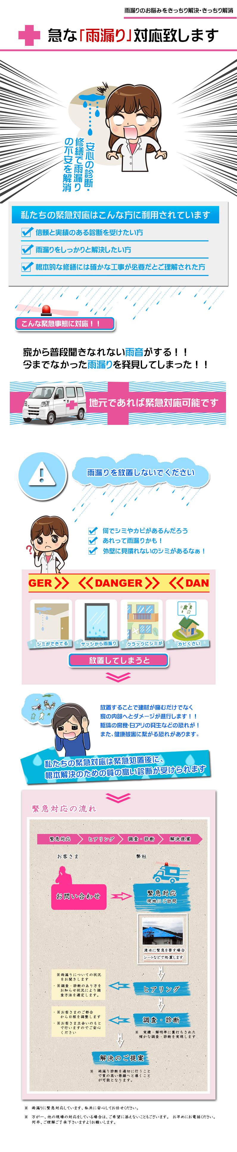 雨漏り緊急診断