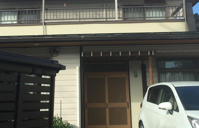 長野市Yさま邸防犯フィルム工事