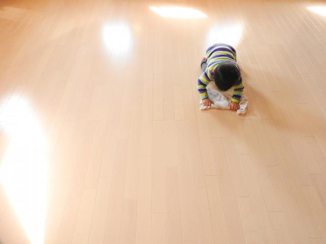 床フローリングのお掃除方法