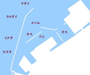 直江津港釣りスポット