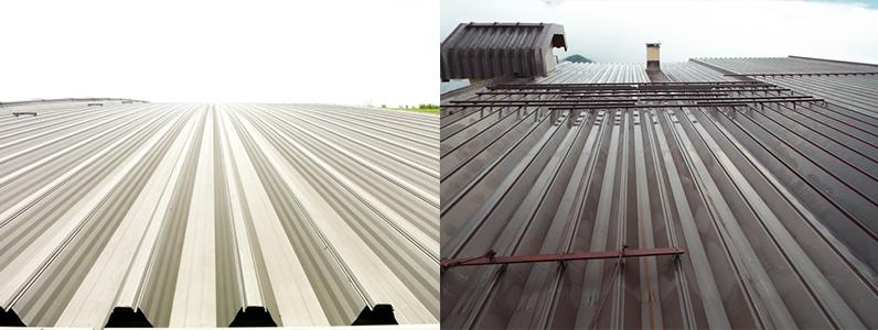 金属屋根の点検項目