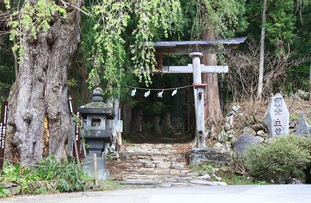 小菅神社のようす