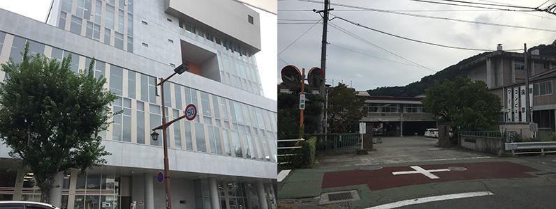 長野市役所・商業高校