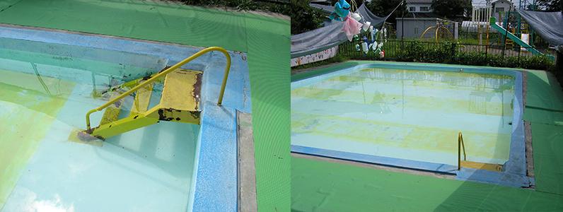 プール改修工事