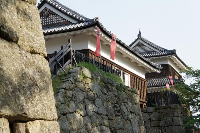 上田城付近