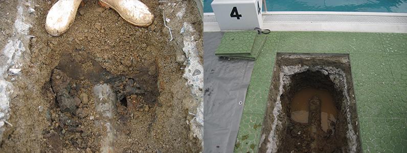プール漏水箇所修繕2