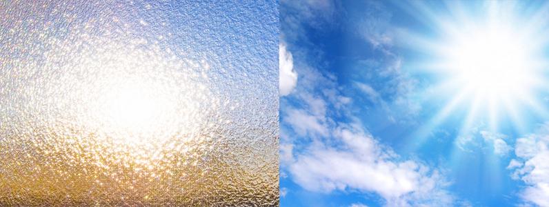 春から夏にかけての窓からの西日・朝日、暑いし、ほんとに眩しいですよね!