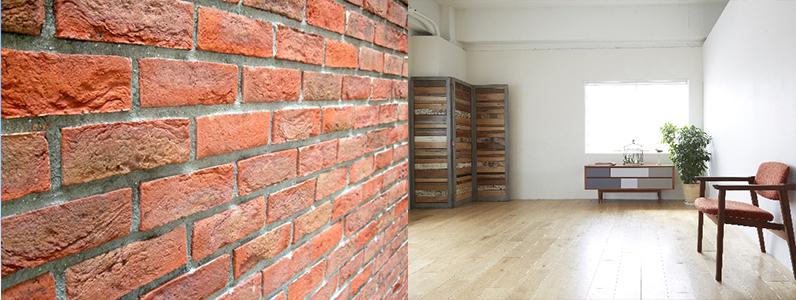 外壁材と内装材