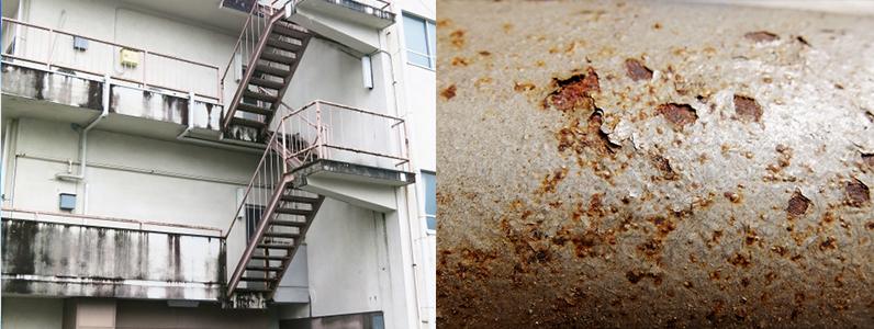 建物の劣化