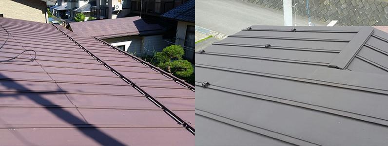 須坂市屋根塗装