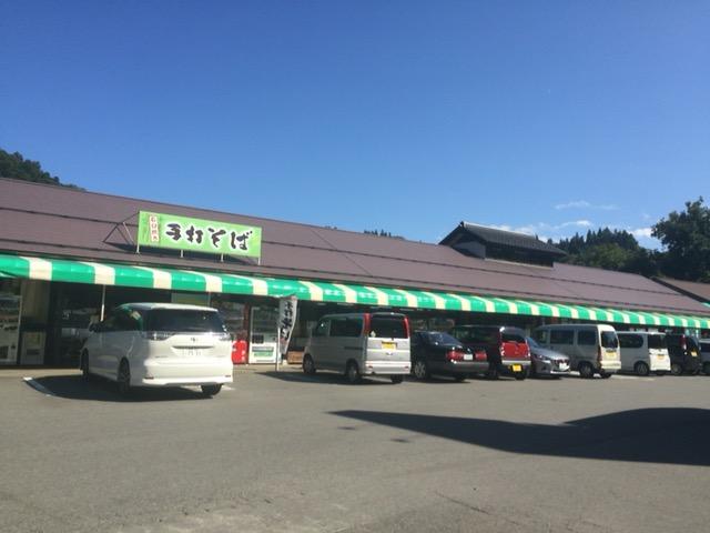 信州新町道の駅のようす