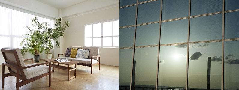 窓ガラスフィルムにおける機能