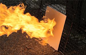 ガイナは不燃材として認定を受けています