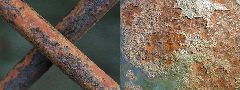 一端さびができると、進行するには時間がかかりません。腐食によって素材表面が薄くなったり、穴が開いてしまうので早めの対策をおこないましょう。