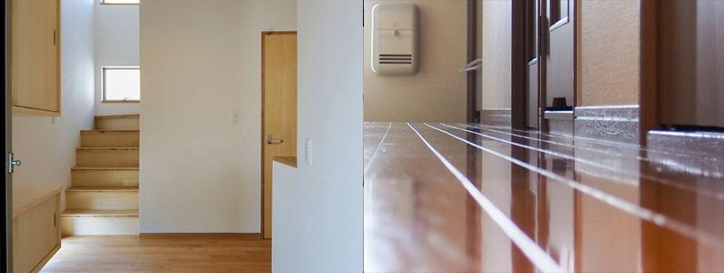 日本住宅は廊下や階段・ドアの幅が狭いのも特徴になります