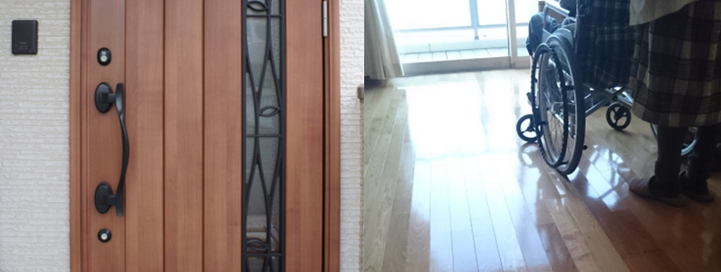 廊下と開口