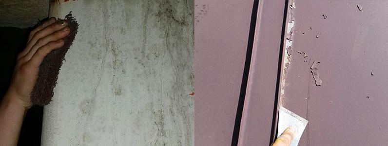 外壁塗装にかかる費用ケレン2