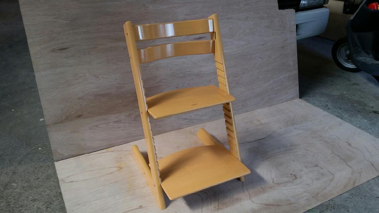 椅子塗り替え工事2