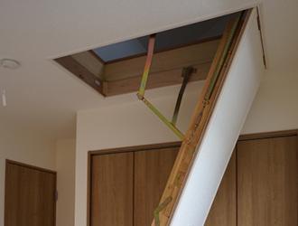屋根裏の材料に変形・損傷・浮き・腐食などは見られませんか