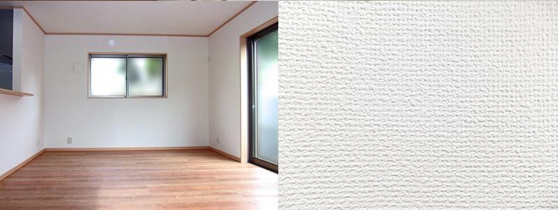 中には塗装できない壁紙もあるので注意が必要です 塩化ビニルクロスである場合、汚染防止クロスであるかないかを確認する必要があります