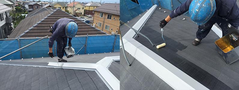 実際にどのくらいで終わるの屋根塗装2