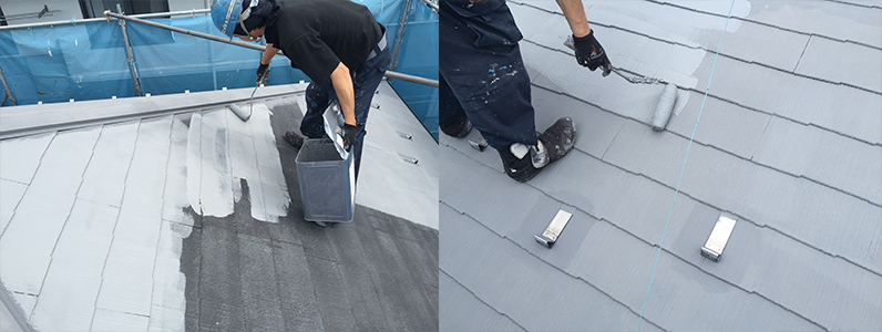 実際にどのくらいで終わるの屋根塗装3