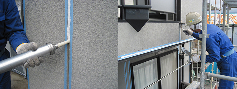 上塗りの塗料の種類によってはブリードが起こる可能性がありますので、材料の選定は気をつけなければなりません。