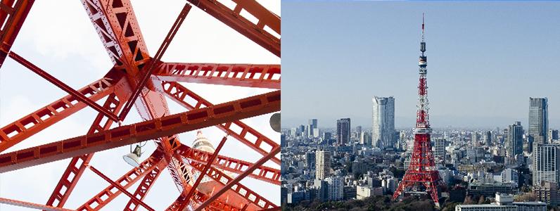 東京タワーの塗り替えはどれだけ大変2