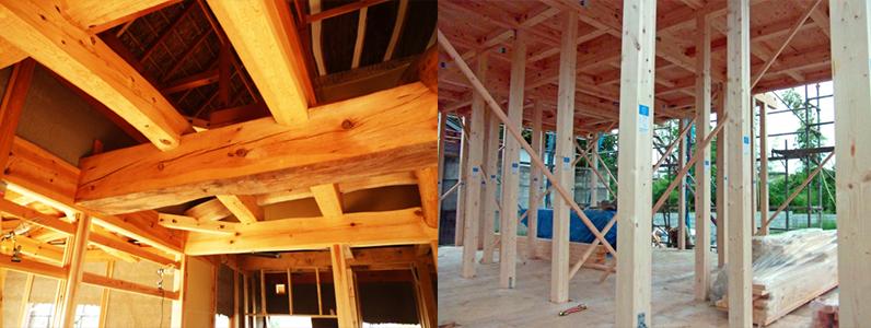 含水率を15~20%になるまで乾燥させてから利用することで強度の高い木材にできます。