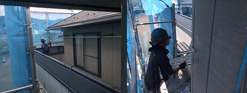 どのくらいで終わるの外壁塗装2
