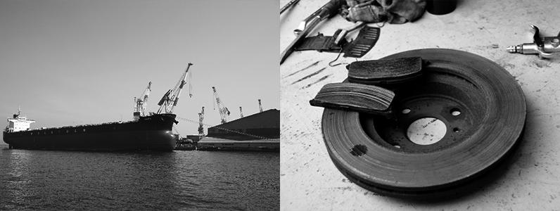 アスベストはコストがかからず建材や船舶・自動車のブレーキなどに多く使用されていました。