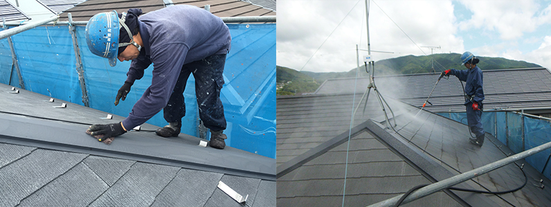 実際にどれくらいで終わるの屋根塗装