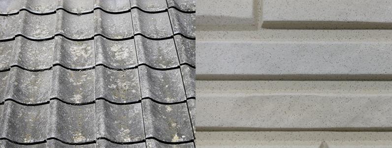 住宅用建材にアスベストが利用されている可能性があるものは主に屋根材と外壁材です。