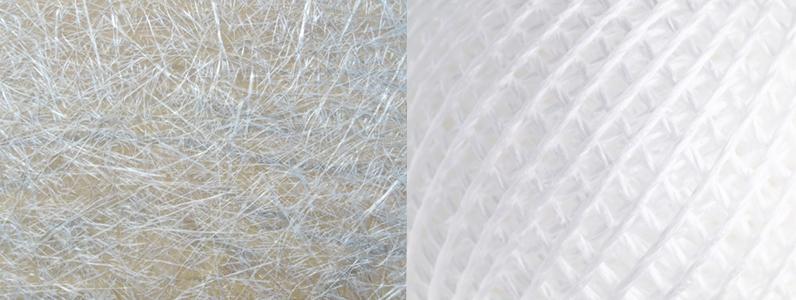 合成繊維で作られる刷毛は主に薬品塗付用に使われていますが、最近では建築塗装でも多く使われています。