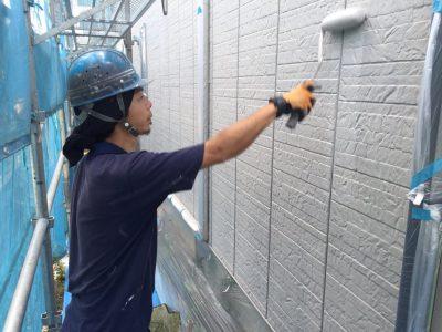 長野市内ガイナ外壁塗装