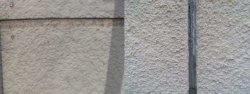 時間の経過によって可塑剤が成分として分離するとシーリングを覆っている塗装面に移っていきます。そうするとにじみ出るような形で塗装面を黒く汚してしまいます。