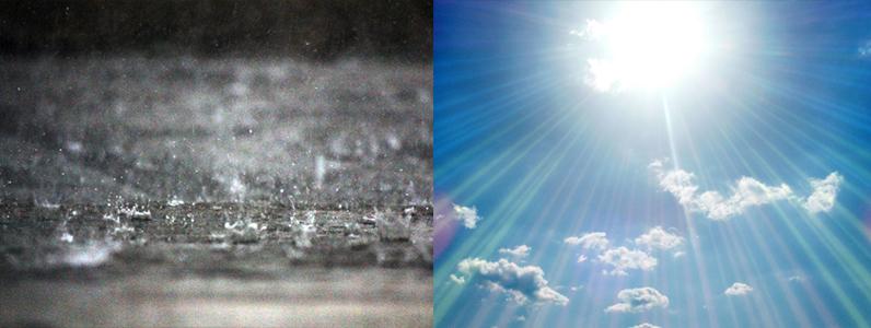 酸性雨と紫外線2