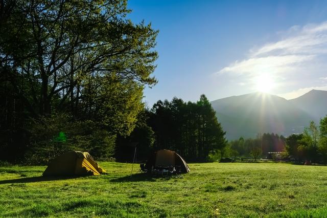 菅平高原もキャンプシーズンですね