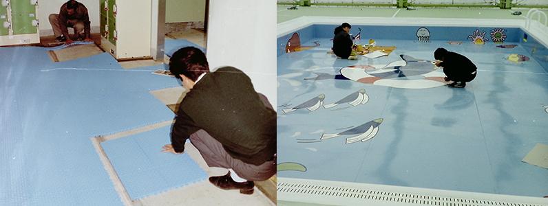 当時は小プールの方に良くイラストを依頼されていました。かわいくて良いですよね!