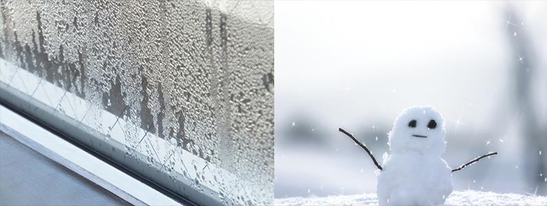 夏に窓から流入する熱の割合は71%、冬に流出する熱の割合は48%、屋根・換気・外壁・床より大きな熱の損失が起きている場所です。