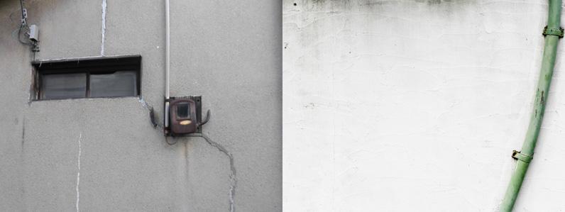 外壁のしみ