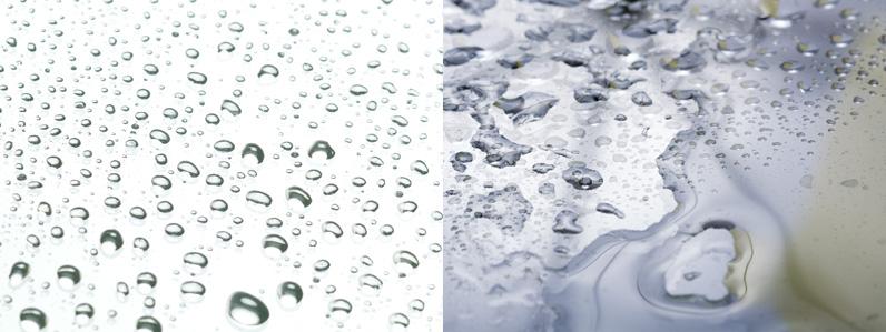 撥水と親水