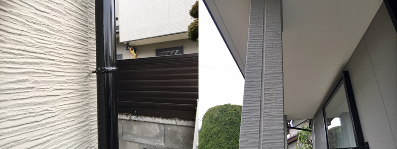 外壁塗装一年点検