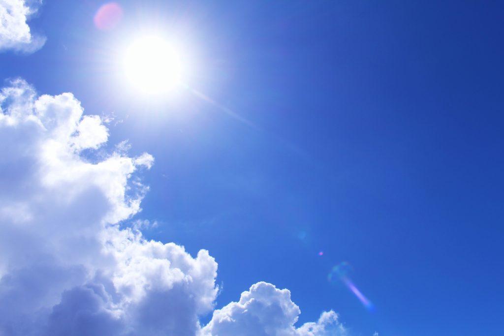 窓からの西日・日差し対策
